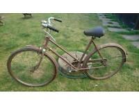 Vintage BSA rod brake ladies/girls bike.