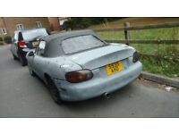 Drift spec Mx5 1.8, Hydro Handbrake, Welded diff, Project car