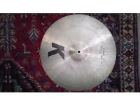 "20"" Zildjian K Custom Medium Ride - Great Condition"