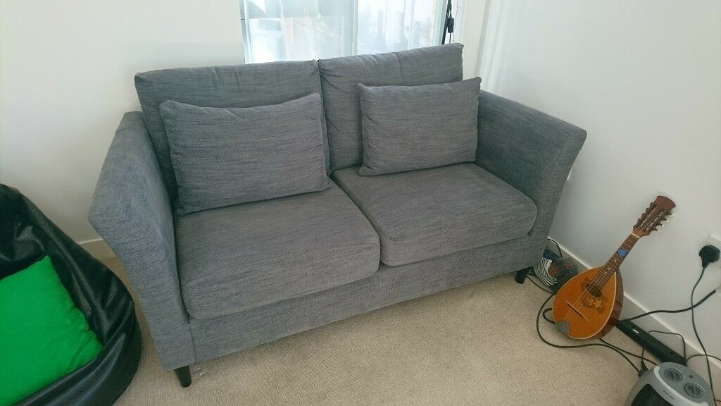 As New Bankeryd Hensta Grey Two Seater Sofa Ikea In Montpelier