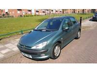 For sale Peugeot 206 very good condition only 79k on clock