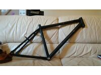 revolution courier bike bicycle frame