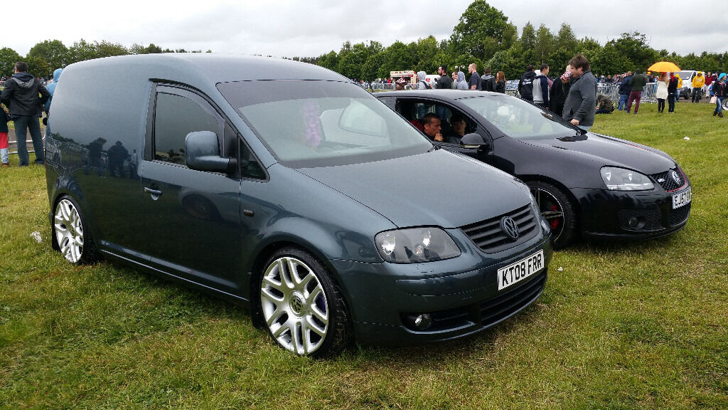 Vw Caddy 2 0l 6 Speed Tdi 140bhp Sportline Vw Modified Vw