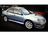 Subaru impreza wrx *ice blue* hawkeye