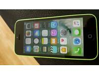 Iphone 5c green on ee £60 or swap for ipad