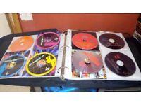 dj rave cd colection in wallet