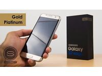 BRAND NEW SAMSUNG GALAXY S7 EDGE GOLD PLATINUM- FACTORY SEALED