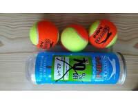 Mini irange tennis balls