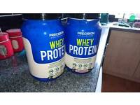 Whey protein - vanilla and strawberry