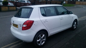 clean on nice skoda fabia woman driven look like and drive like new