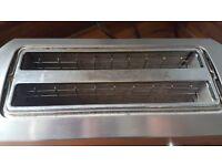 Oliver Hemming 4 slice chrome toaster