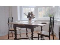 Beautiful Solid Farmhouse Dining Table
