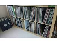 Approx 700 trance, house and techno records vinyl