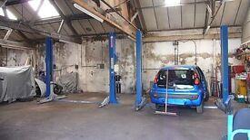 Garage workshop Car space or ramp to hire in Halesowen area