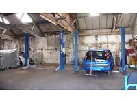 Garage workshop Car space or ramp to hire in Halesowen area