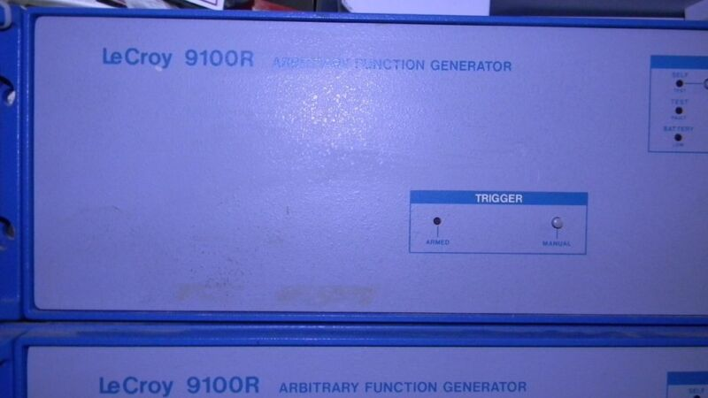 """LeCroy 9100R arbitrary function generator """" Working & Calibrated""""."""