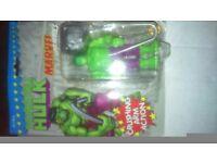 Hulk marvel superhero toy figure