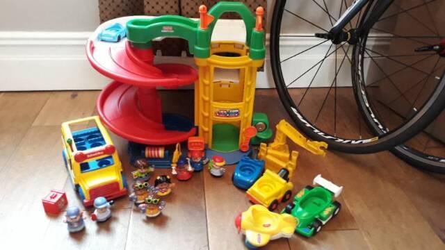 Little People Garage : Little people garage bus vehicles in newport gumtree