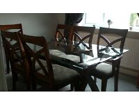 Six seater dining suite