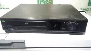 sony VHS VCR