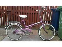 Classic Raleigh stowaway bike