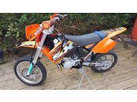 KTM sx65 motocross bike 2008