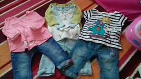 Baby girl next clothes