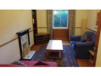 Lovely 2 bedroom ground flat in Newington with WiFi available June – NO FEES!