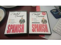 Michel Thomas Spanish Course and Advanced Spanish Course