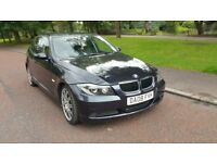 VERY LOW MILES ONLY 50K,BMW 318i 2008 REG,FULL LEATHER 6 SPEED,EXCELLENT RUNNER,m sport,PX WELCOME!!