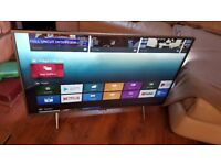 Philips 6000 series 43PUS6401 43 inch 4K ANDROID LED TV,INBUILT WIFI,BLUETOOTH,FREEVIEW & FREESAT HD