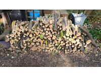Free logs for woodburner stove