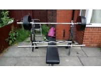 Gymano weight bench