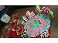 Large Happyland toy bundle