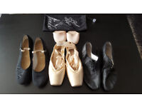 Ballet shoes and clothes for sale