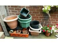 Plant tubs