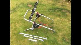 Universal high mount bike carrier