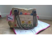 Pink Lining Blooming Gorgeous Baby Changing Bag