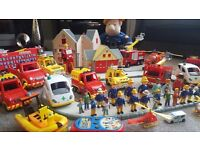 Fireman Sam toy collection
