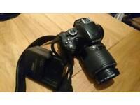 REDUCED Nikon D5100 and 55-200 AF-S DX lens