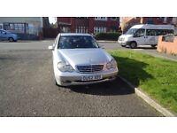 Mercedes C220 Class, Diesel, Automatic