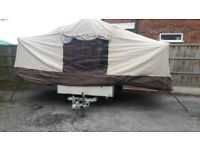 Trailer Tent 4 birth with accesories and awning
