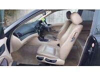 2002 (52) BMW 3 SERIES E46 3i8ci SE 2.0L PETROL MANUAL COUPE MOT OCT 17 HPI CLEAR LEATHER INT S.H