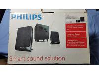 speakers Phillips 2.1