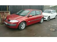 Renault megane 2005 drives superb with a new MOT