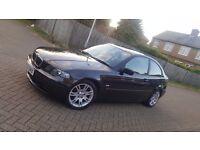2003 (53) BMW 3 SERIES E46 316ti SE 3DR HATCHBACK 1.8L PETROL AUTOMATIC MOT JUN 2017 HPI CLEAR