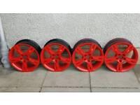 16 inch alloy wheels 5×100