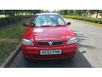 Vauxhall Astra 1.6 petrol one year mot great conditions
