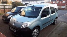Renault kangoo extreme auto with disabled access