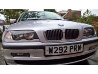 SILVER BMW 323i SE (E46) 2.5 Litre 4 Door Saloon - SUPER LOW PRICE FOR QUICK SALE